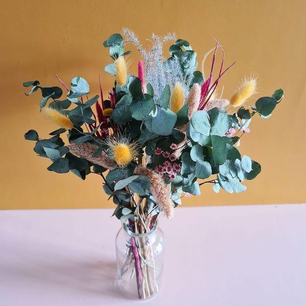 Bouquet de fleur sechees