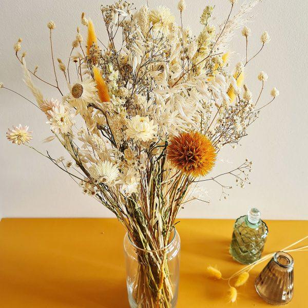 bouquet de fleurs sechees livraison