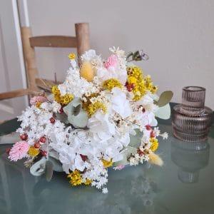 Un bouquet de fleur séchée