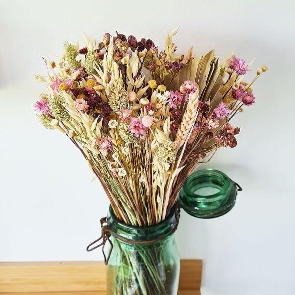 Bouquet seche deco
