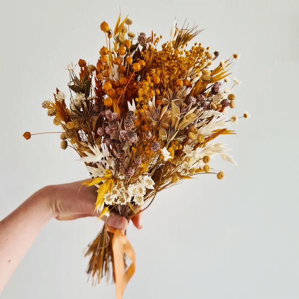 Bouquet de fleur séché