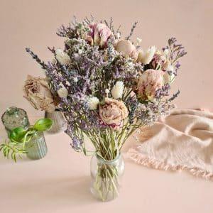 bouquet fleurs séchées livraison