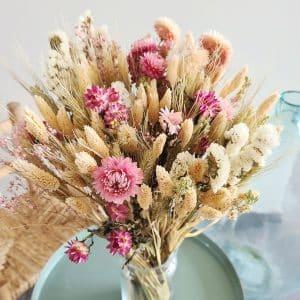 Grand bouquet fleurs sechees