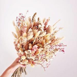Bouquet de fleur séchée naturel
