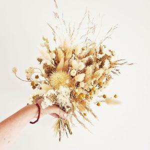 petit bouquet de fleurs séchées déco