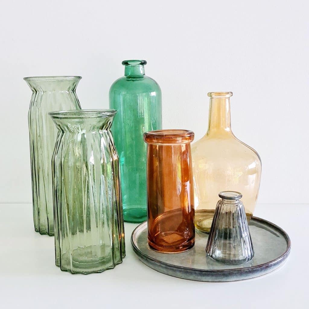 Vases pour fleurs séchées