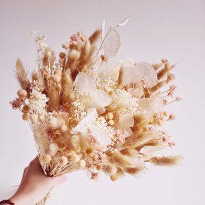 Bouquet de fleur séché déco