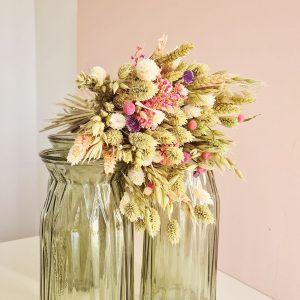 Bouquet fleurs séchées pas cher déco