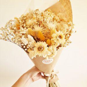 Composition fleurs séchées pour votre décoration